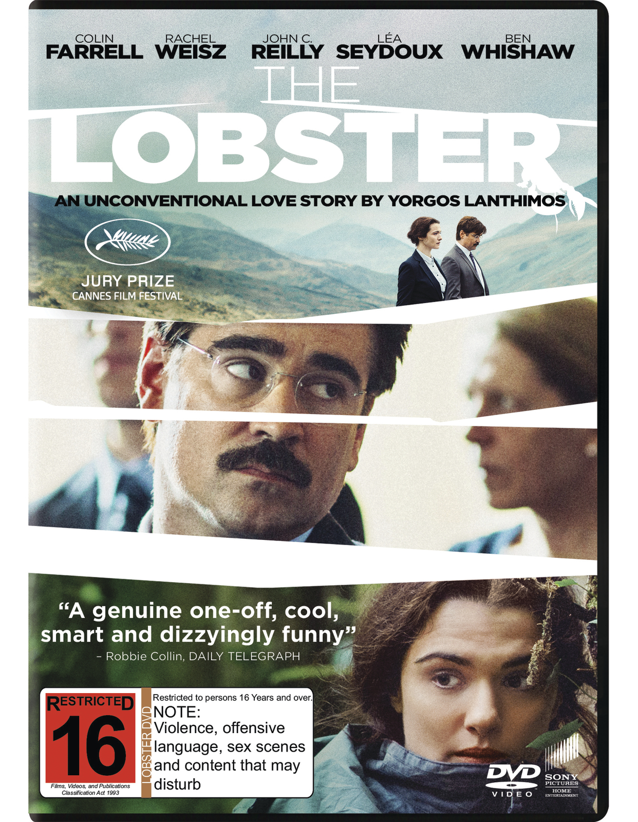 The Lobster on DVD image