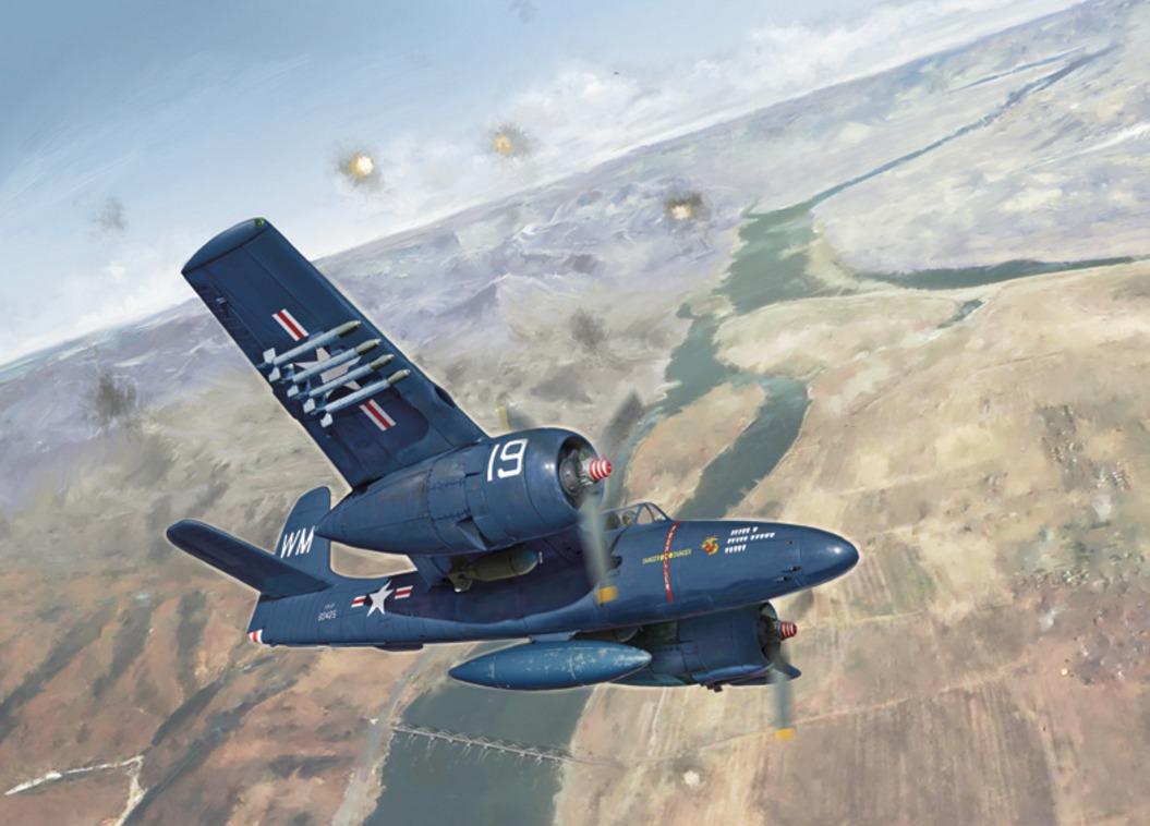 1 48 F7f 3 Grumman Tigercat Model Kit At Mighty Ape Nz