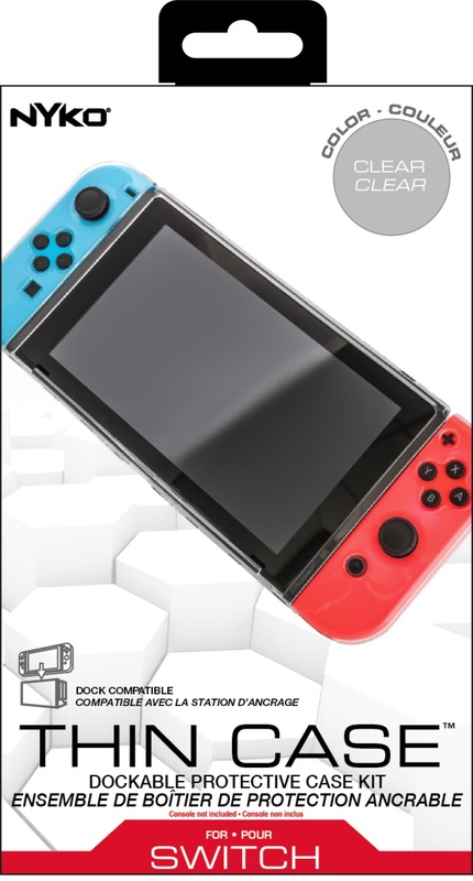 Nyko Thin Case (Clear) for Nintendo Switch for Switch
