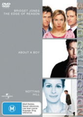 Bridget Jones - Edge Of Reason / About A Boy / Notting Hill - 3 DVD Collection (3 Disc Set) on DVD