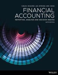 Financial Accounting by Shirley Carlon