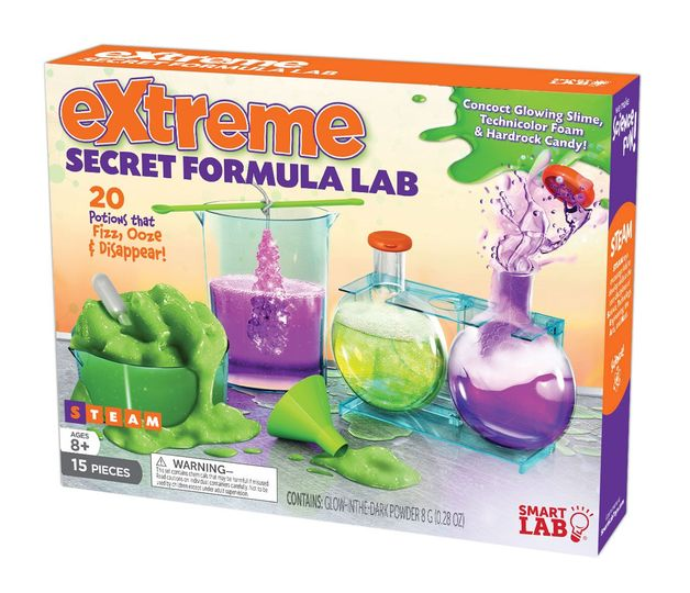SmartLab: Extreme Secret Formula Lab