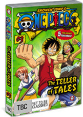 One Piece - Vol. 3: The Teller Of Tales on DVD