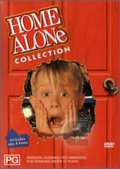 Home Alone Collection (4 Disc Box Set) on DVD