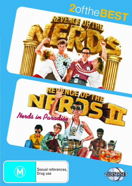 Revenge Of The Nerds / Revenge Of The Nerds II - 2 Of The Best (2 Disc Set) on DVD