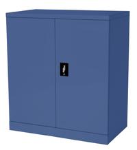 Proceed Steel Cupboard 2 Shelf - W900mm x D500mm x H1000mm (Dusk Blue)