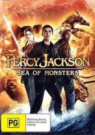 Percy Jackson: Sea of Monsters on DVD