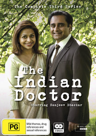The Indian Doctor - The Complete Third Series on DVD