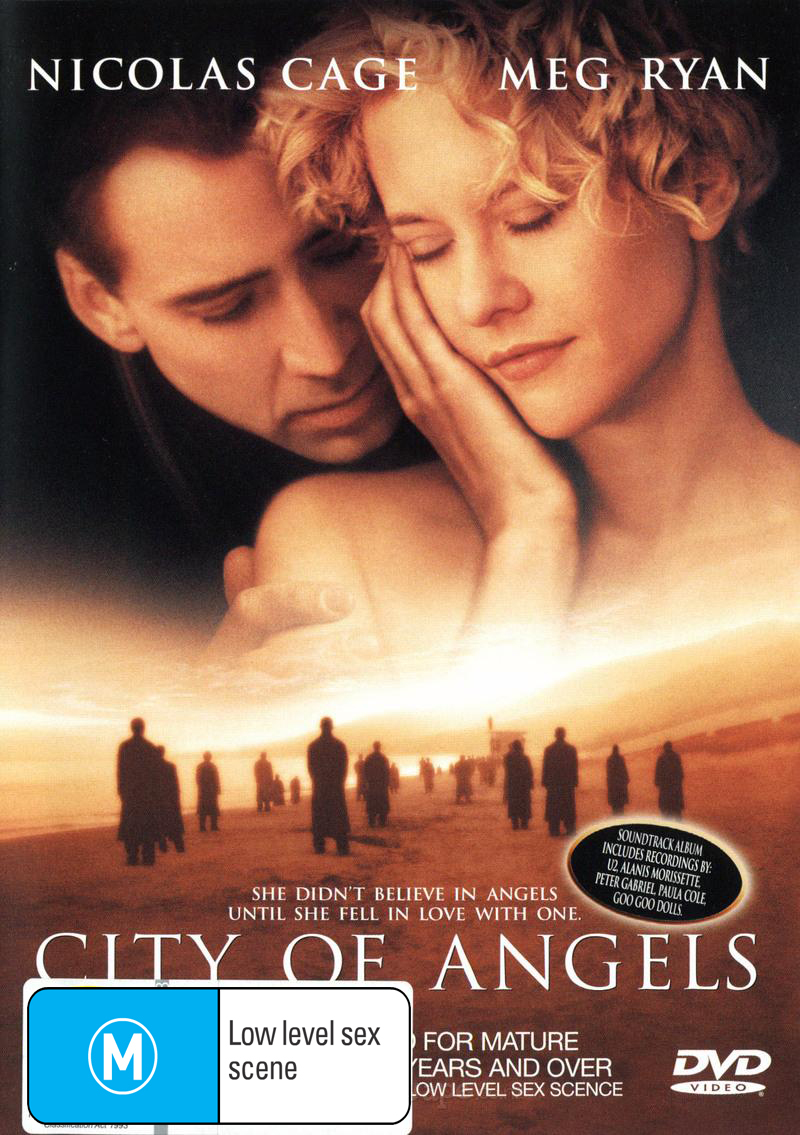 City of Angels on DVD image