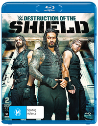 WWE - The Destruction Of The Shield on Blu-ray