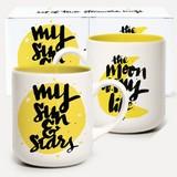 U-Studio: Matthew Taylor Wilson Mug Set – Moon & Stars