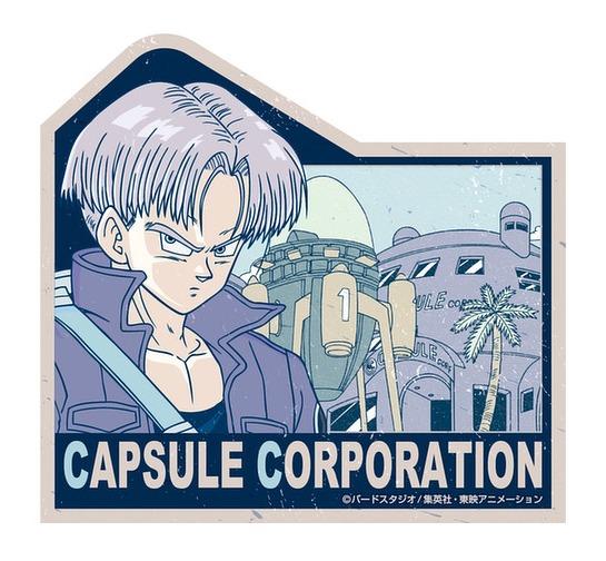 Dragon Ball Z: Travel Luggage Sticker - Capsule Corporation #5