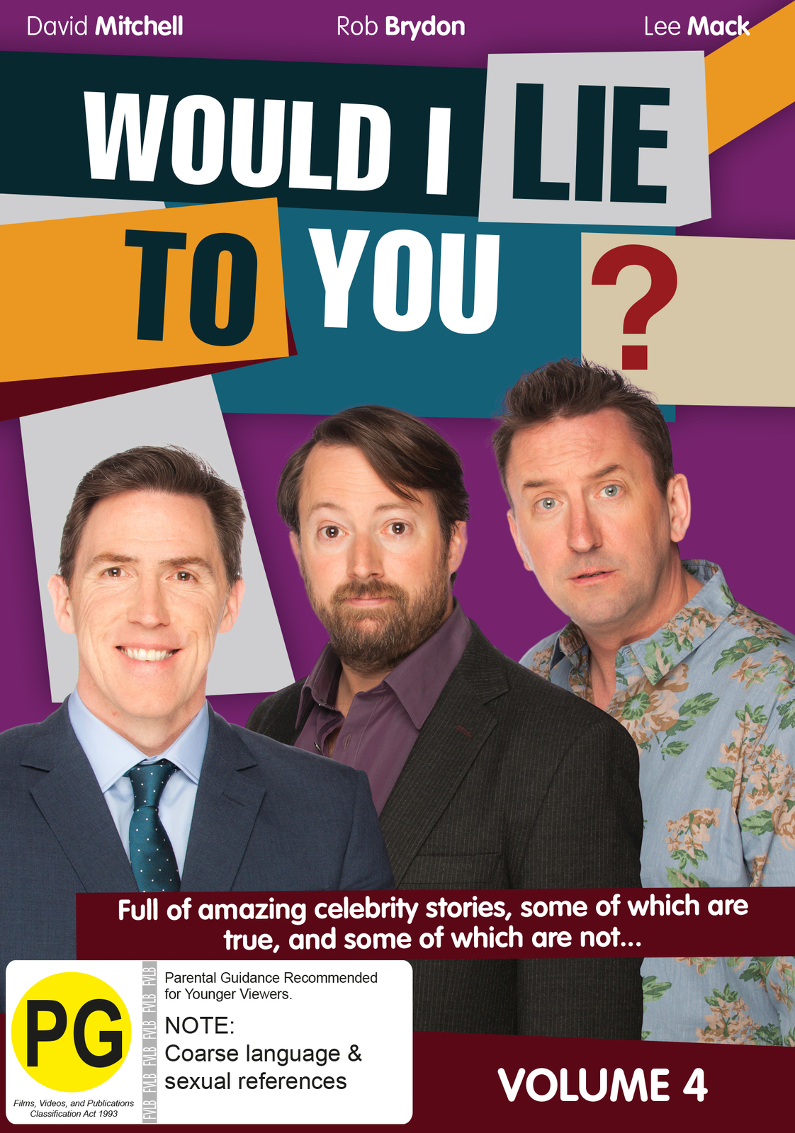 Would I Lie To You ? - Volume 4 on DVD image