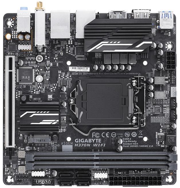 Gigabyte H370N WIFI ITX Motherboard