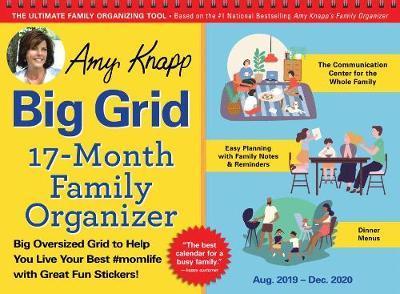 Best Family Games Of 2020 2020 Amy Knapp's Big Grid Family Organizer Wall Calendar | Amy