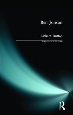 Ben Jonson by Richard Dutton image