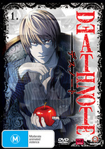 Death Note - Vol. 1 on DVD