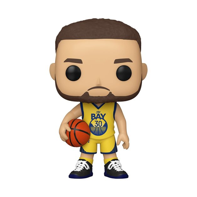 NBA: Warriors - Steph Curry (Alternate) Pop! Vinyl Figure