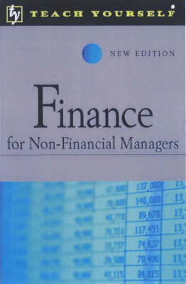 Finance for Non-financial Mangers by Philip Ramsden image