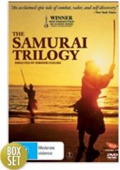 Samurai Trilogy, The (3 Disc Box Set) on DVD
