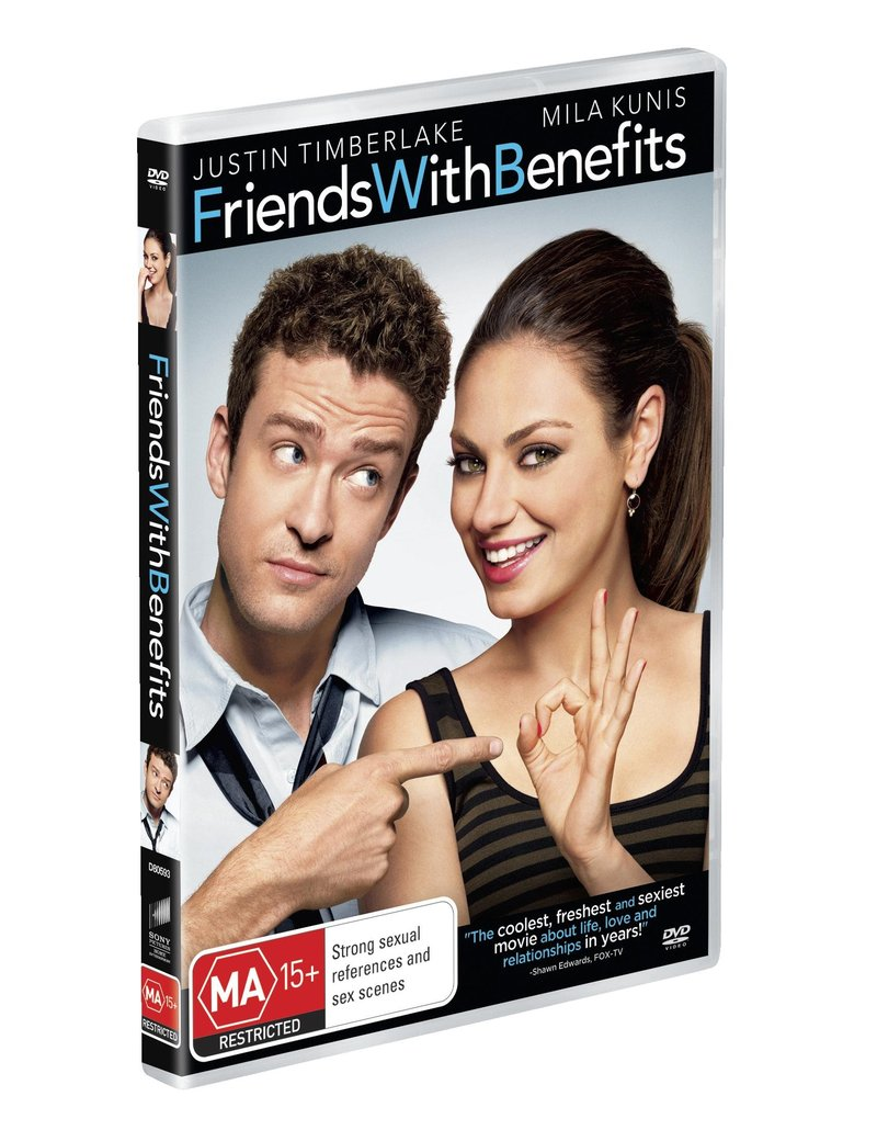 Friends With Benefits on DVD image