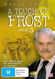 A Touch Of Frost - Series 5 (4 Disc Set) on DVD image