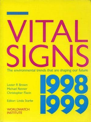 Vital Signs 1998-1999 by Lester R. Brown image