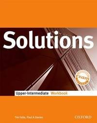 Solutions Upper-Intermediate: Workbook by Tim Falla image