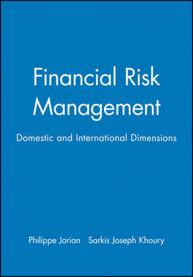 Financial Risk Management by Philippe Jorion