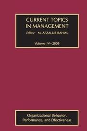 Current Topics in Management: v. 14 image