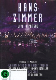 Hans Zimmer: Live in Prague on DVD