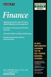 Finance by Angelico Groppelli
