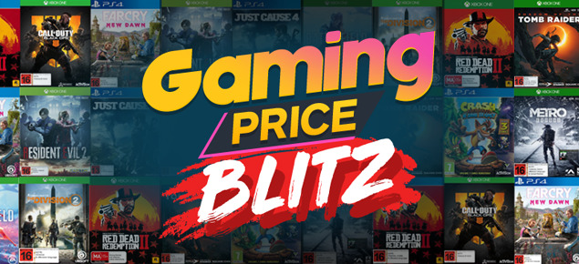 Gaming PRICE BLITZ!