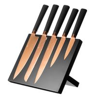 Viners: Titan Copper 6pce Knife Block Giftbox set