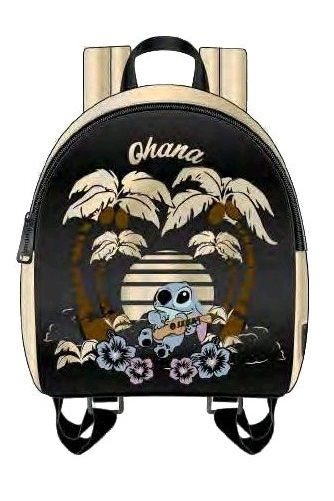 Loungefly: Lilo & Stitch - Stitch Ohana Mini Backpack