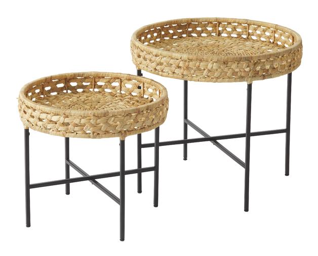 Amalfi: Riviera Table Set/2 (45x45x41cm/55x55x51cm)