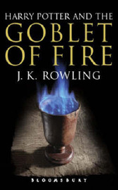 Harry Potter and the Goblet of Fire: Adult Edition by J.K. Rowling image