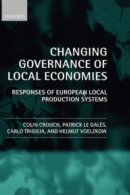Changing Governance of Local Economies by Colin Crouch image