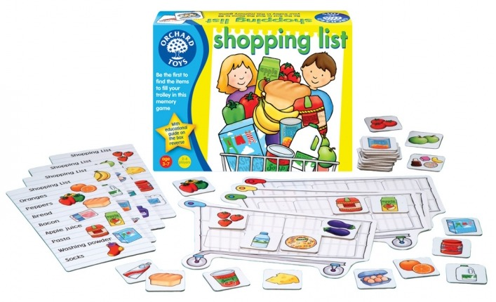 Orchard Toys: Shopping List Game image