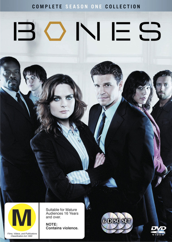Bones - Season 1 (6 Disc Set) on DVD