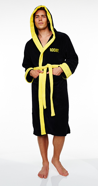 3ebb5a547d Rocky Hooded Towelling Hooded Bath Robe image ...