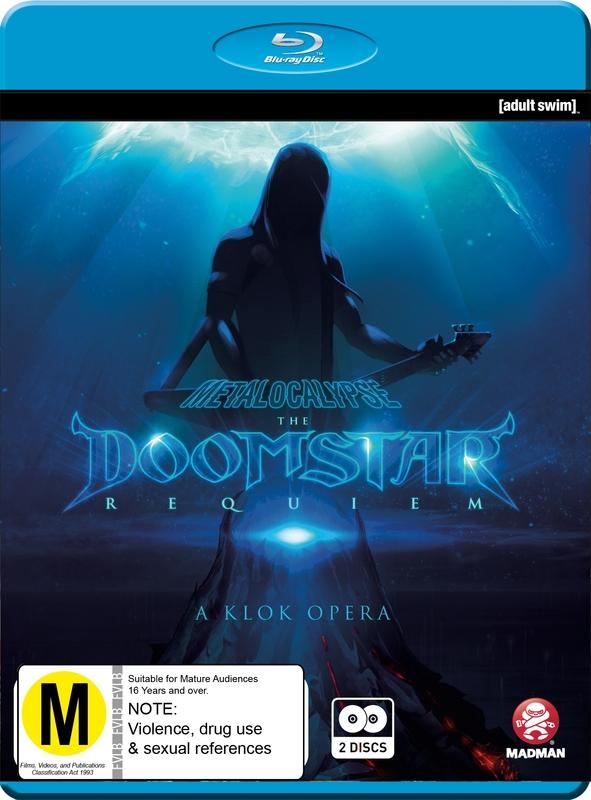 Metalocalypse: The Doomstar Requiem on Blu-ray