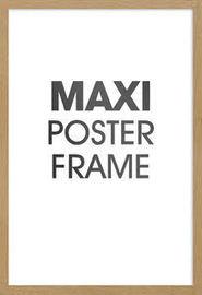 Maxi Poster Frame - Oak