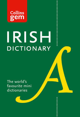 Collins Irish Dictionary Gem Edition by Collins Dictionaries image