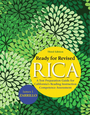 Ready for Revised RICA by James J. Zarrillo