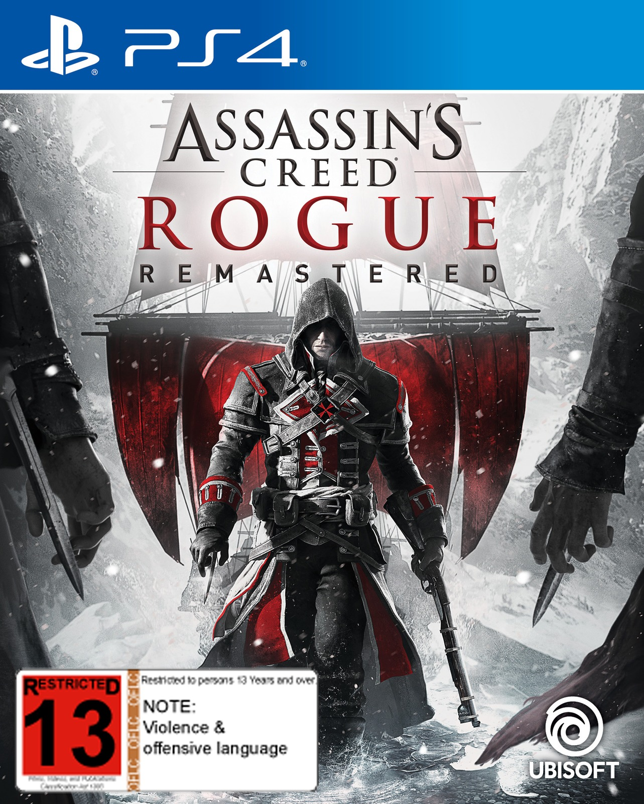 Assassin's Creed: Rogue Remastered for PS4 image