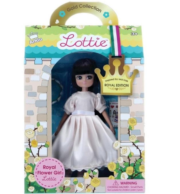 Royal Flower Girl Lottie