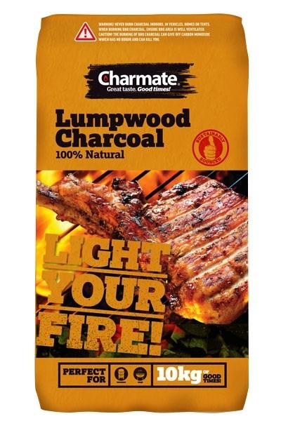 Charmate Lumpwood Charcoal 10Kg