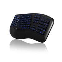 Adesso: Wired Tru-Form 150 – 3-Color Illuminated Ergonomic Keyboard