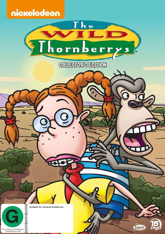 The Wild Thornberrys (Collector's Edition) on DVD